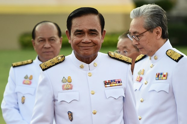 Jura nuevo Gobierno de Tailandia hinh anh 1