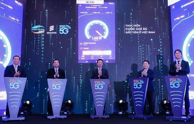 Desplegara Ciudad Ho Chi Minh servicio 5G en septiembre de 2019 hinh anh 1