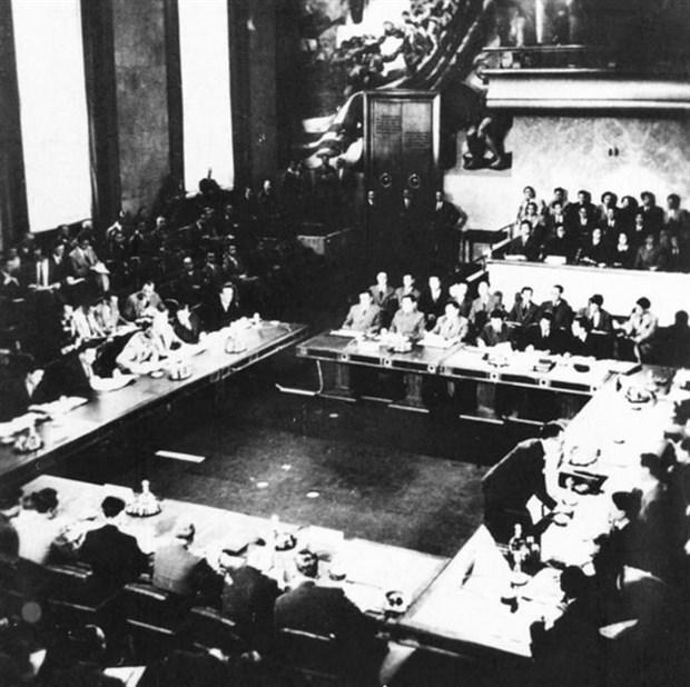 Resaltan en Vietnam el significado de la conferencia de Ginebra hace 65 anos hinh anh 1