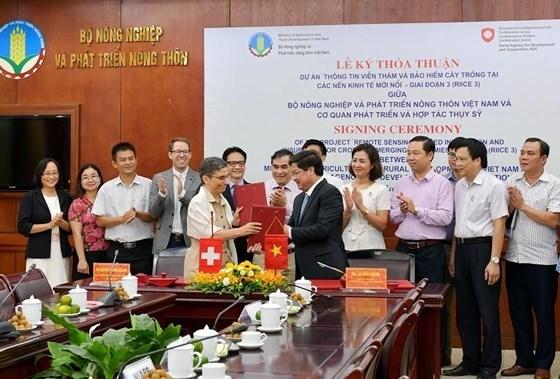 Impulsan en Vietnam aplicacion de avanzadas tecnologias en cultivos con asistencia suiza hinh anh 1