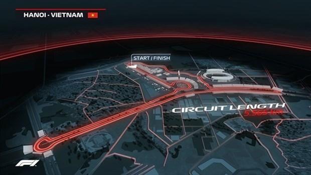 Ponen a la venta de entradas para carrera F1 en Vietnam hinh anh 1