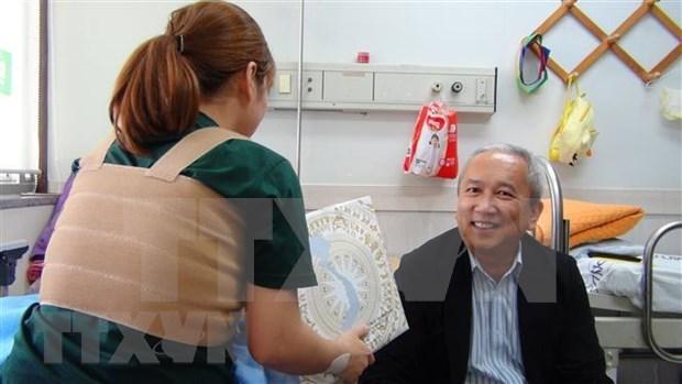 Ofrece la Embajada de Vietnam en Corea del Sur apoyo a connacional victima de violencia domestica hinh anh 1