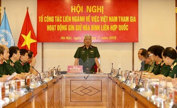 Estudia Vietnam envio de fuerzas civiles a misiones de paz de la ONU hinh anh 1