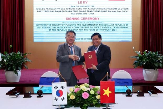 Vietnam y Corea del Sur fortalecen el intercambio de informacion sobre politicas exitosas hinh anh 1