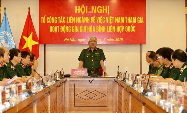 Ampliara Vietnam su participacion en fuerzas del mantenimiento de paz de la ONU hinh anh 1