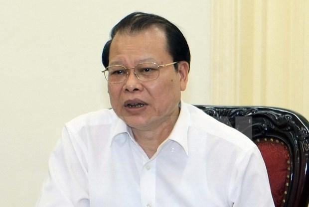 Sanciona Partido Comunista de Vietnam al ex viceprimer ministro Vu Van Ninh hinh anh 1