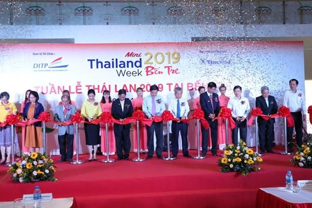 Inaugura Semana de Tailandia en provincia vietnamita de Ben Tre hinh anh 1