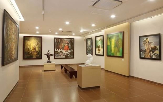 Participaran pintores extranjeros en exposicion de Bellas Artes en Da Nang hinh anh 1