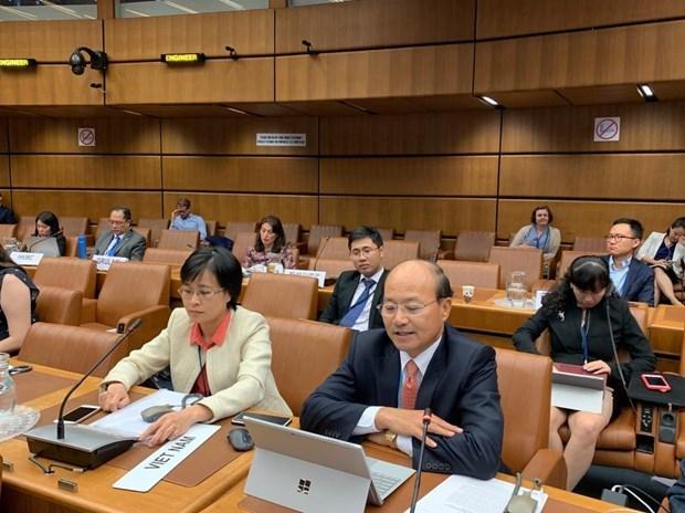 Aspira Vietnam a participar en elaboracion de regulaciones de comercio internacional hinh anh 1