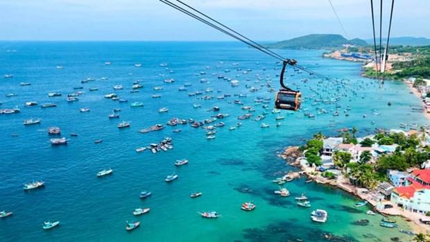 Numero de turistas a la isla vietnamita de Phu Quoc crece 36 por ciento en lo que va de ano hinh anh 1