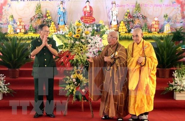 Efectuan en Vietnam requiem dedicado a martires de guerra hinh anh 1