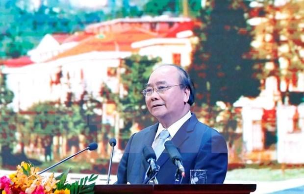 Premier de Vietnam pide un desarrollo turistico sostenible en provincia de Lao Cai hinh anh 1