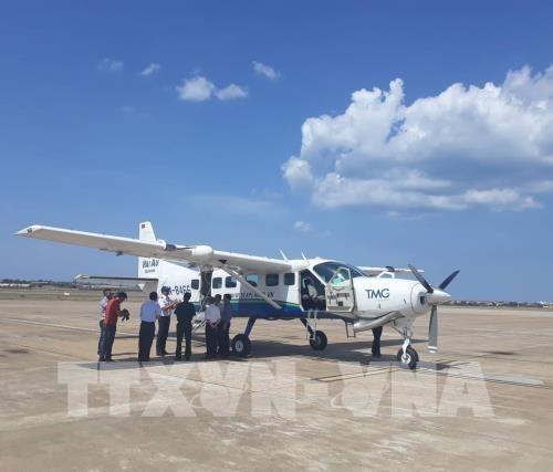 Inauguran viajes en hidroavion entre destinos turisticos vietnamitas de Dong Hoi y Da Nang hinh anh 1
