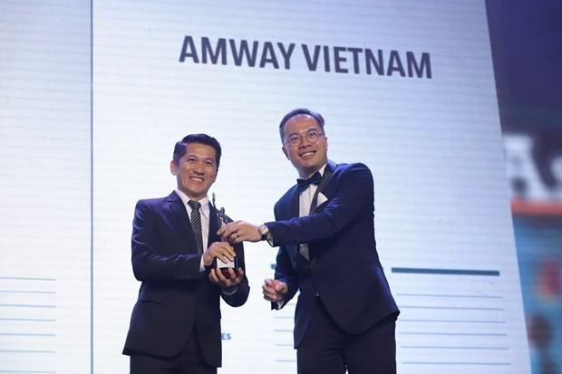 Seleccionan a Amway Vietnam entre las mejores para trabajar en Asia hinh anh 1