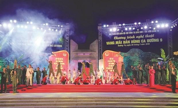 Festival musical en provincia vietnamita de Quang Tri honra a combatientes caidos hinh anh 1