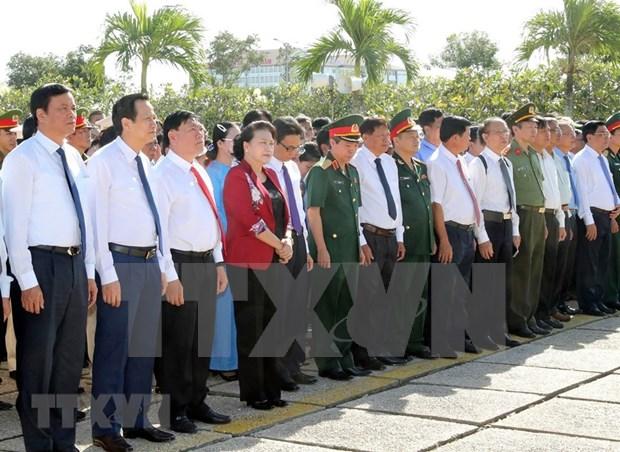 Resalta presidenta de la Asamblea Nacional de Vietnam contribuciones de veteranos de guerra hinh anh 1