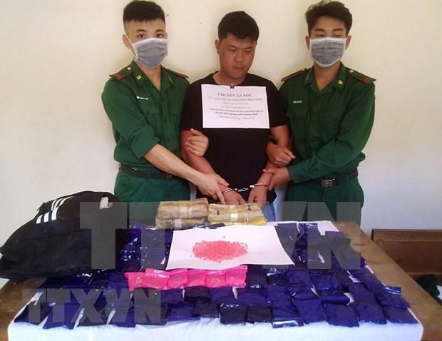 Arrestan en Vietnam a jefe de una organizacion de narcotrafico transnacional hinh anh 1