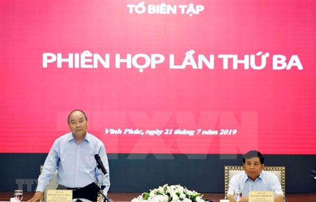 Pide premier de Vietnam adecuar estrategia socioeconomica a nueva situacion mundial hinh anh 1