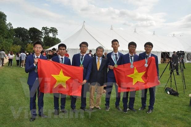 Elogia presidente de Olimpiada Internacional de Matematica al modelo vietnamita hinh anh 1