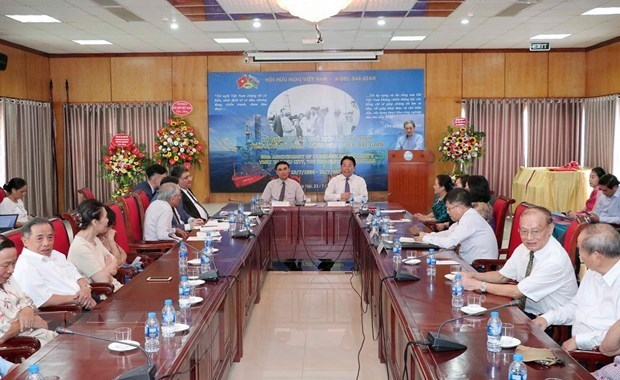 Conmemoran 60 aniversario de visita de Ho Chi Minh a Azerbaiyan hinh anh 1