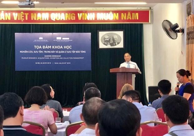 Comparten Vietnam y Singapur experiencias en museologia en Hanoi hinh anh 1