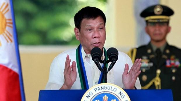 Promete presidente filipino continuar la lucha contra el narcotrafico y la corrupcion hinh anh 1