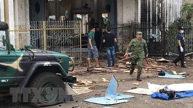Revelan que matrimonio indonesio realizo atentado suicida en Filipinas hinh anh 1