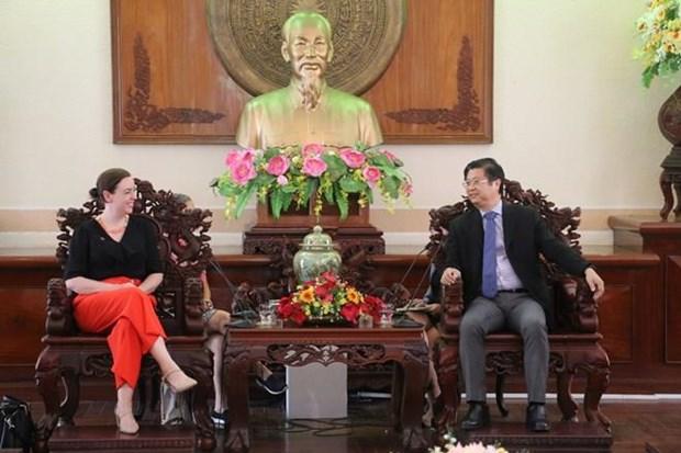 Muestran empresas australianas interes en invertir a largo plazo en provincia vietnamita de Can Tho hinh anh 1