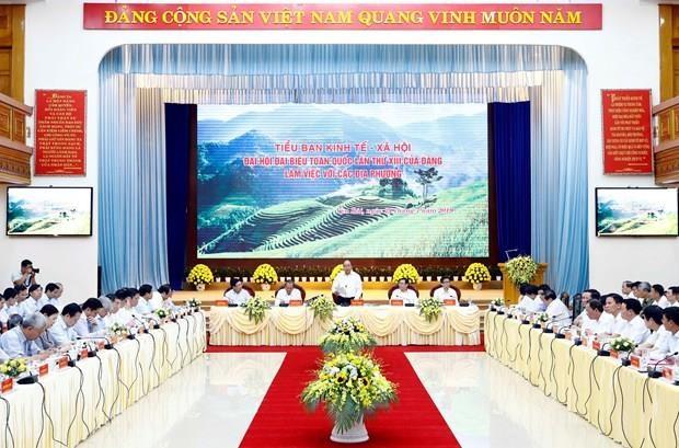Insta premier vietnamita a prestar atencion al bienestar social en region montanosa del norte hinh anh 1