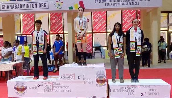 Triunfa deportista vietnamita en Torneo Internacional de Badminton en Ghana hinh anh 1