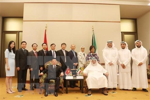 Vietnam preside 54 reunion de la Junta Directiva de ASOSAI en Kuwait hinh anh 1