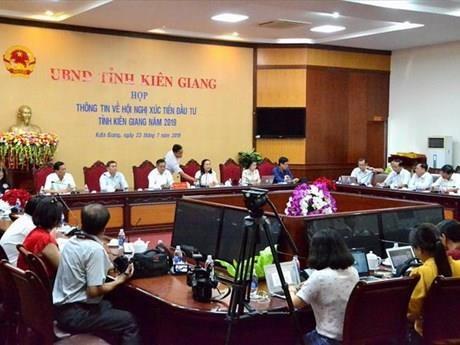 Celebraran Conferencia de Promocion de Inversiones en provincia vietnamita de Kien Giang hinh anh 1