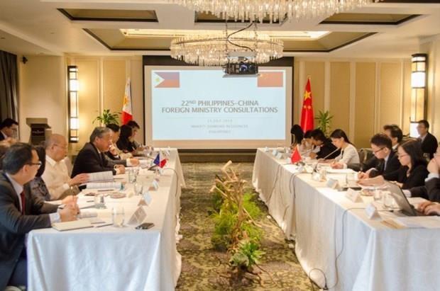 Celebran Filipinas y China consultas a nivel de cancillerias hinh anh 1