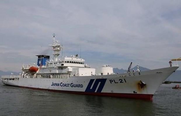 Visita buque guardacostas de Japon ciudad centrovietnamita de Da Nang hinh anh 1