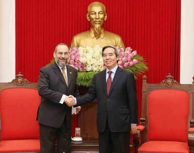 Otorga Vietnam importancia a sus nexos economicos con Estados Unidos hinh anh 1