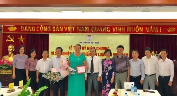 """Vietnam honra a presidenta del Fondo Internacional """"Camino de la Paz"""" hinh anh 1"""