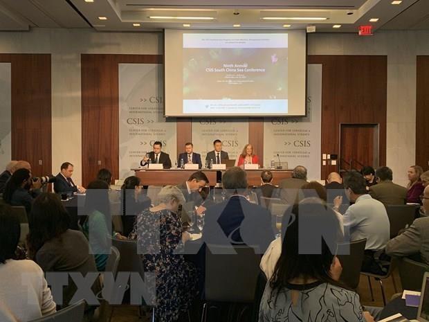Muestran expertos internacionales preocupacion por situacion en Mar del Este hinh anh 1