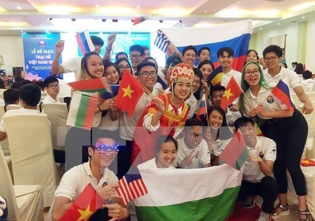 Concluye Campamento Veraniego de Vietnam para jovenes residentes en el exterior hinh anh 1
