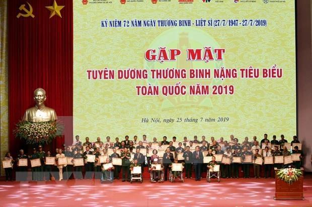 Honran en Vietnam a invalidos de guerra hinh anh 1