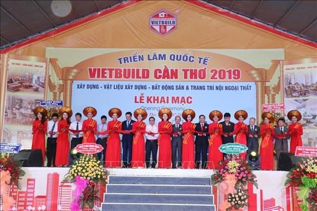 Inauguran Exposicion Internacional Vietbuild 2019 en la provincia vietnamita de Can Tho hinh anh 1