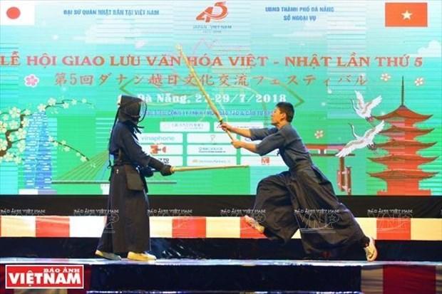 Inauguran Fiesta Cultural Vietnam-Japon en Da Nang hinh anh 1