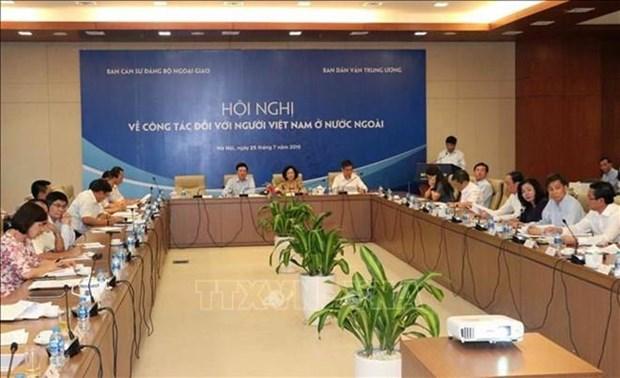 Afirman que los vietnamitas en ultramar juegan papel importante en el desarrollo nacional hinh anh 1