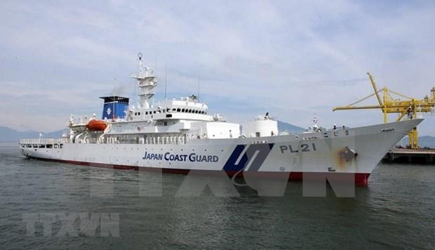 Desarrolla visita a Vietnam delegacion de la Guardia Costera de Japon hinh anh 1