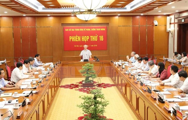 Vietnam se compromete a seguir con firmeza lucha anticorrupcion hinh anh 1