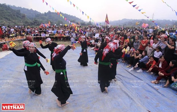 Canto Then, el alma del grupo etnico Tay hinh anh 1