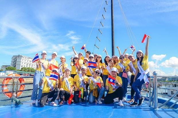 Inauguran el Concurso de Canto ASEAN+3 en la ciudad vietnamita de Ha Long hinh anh 1
