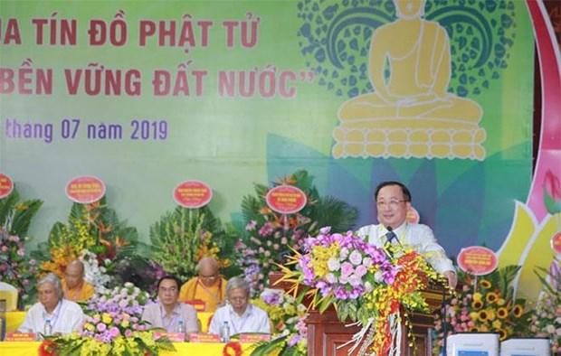 Debaten en Vietnam sobre papel del budismo en el desarrollo sostenible del pais hinh anh 1