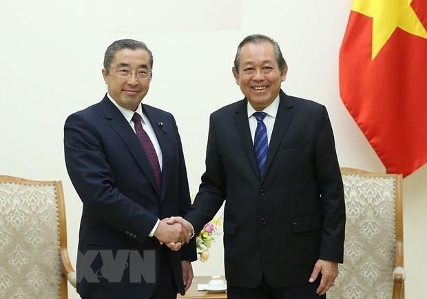 Espera Vietnam apoyo japones en la inspeccion y creacion del gobierno electronico hinh anh 1