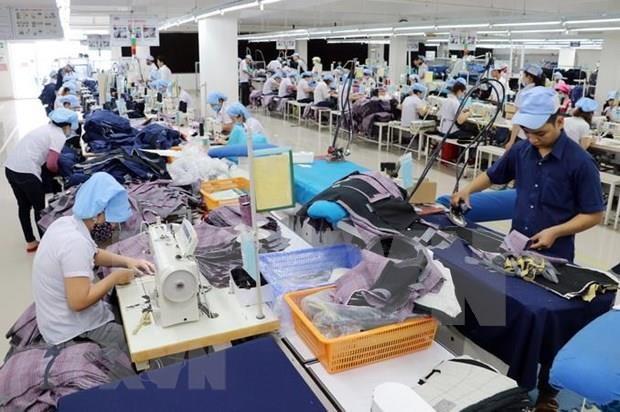 Registra provincia vietnamita alto ingreso por exportaciones de calzados y textiles hinh anh 1