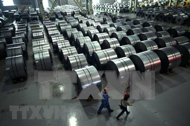 Crecen la produccion y consumo de acero de Vietnam en primer semestre de 2019 hinh anh 1